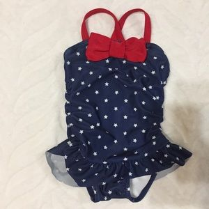 🛍 Gymboree One-Piece Swimsuit Stars